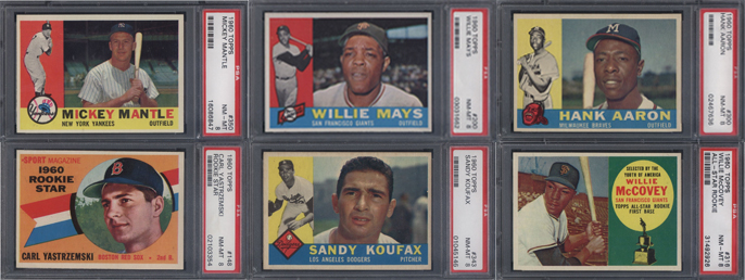 1960 Topps Cards
