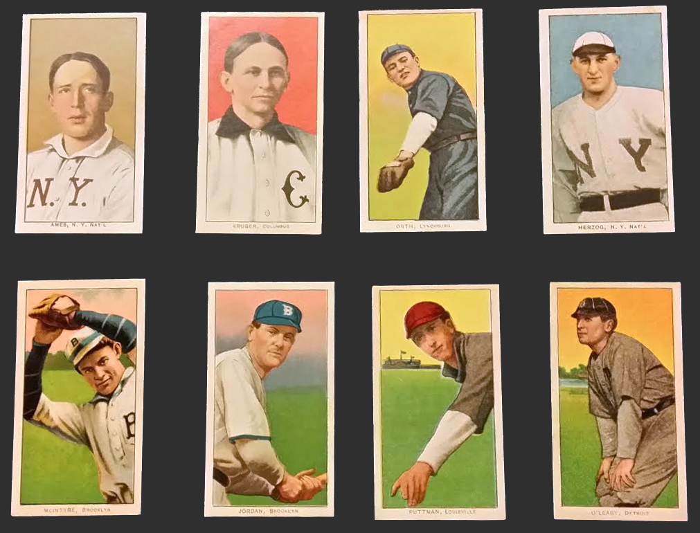1909-11 T206 Tobacco Cards