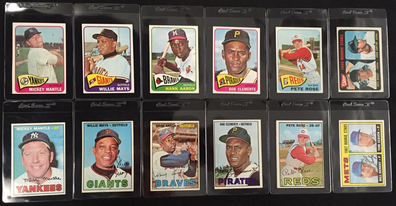 Vintage Baseball Stars