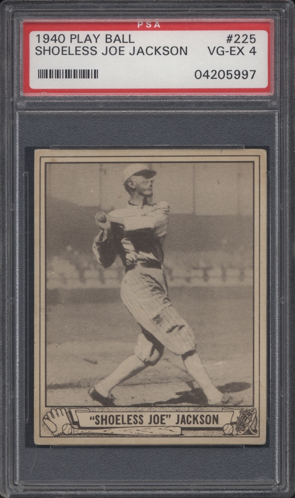 1940 Play Ball Shoeless Joe Jackson