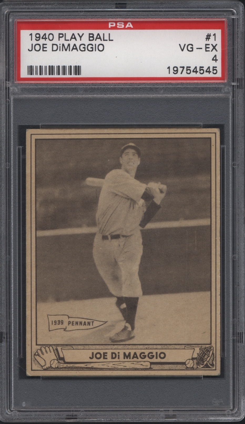 1940 Play Ball Joe DiMaggio