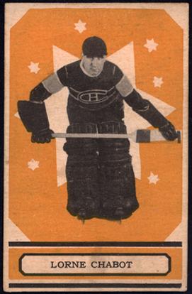 1933 O-Pee-Chee Lorne Chabot Card