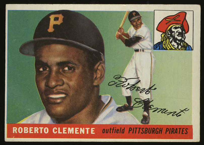 1955 Topps Roberto Clemente Rookie