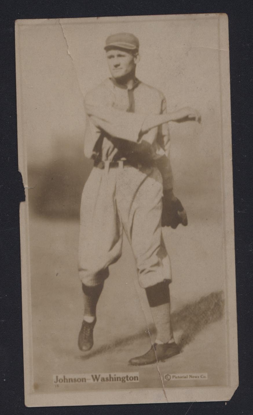 1914 T222 Walter Johnson