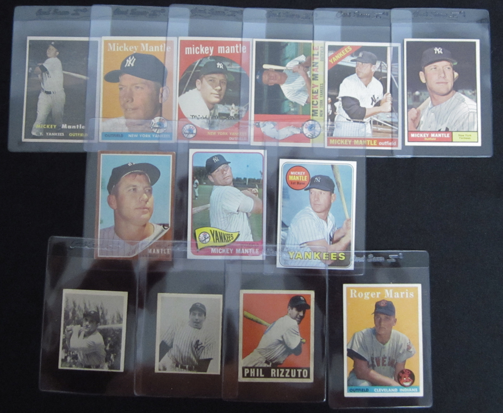 Mickey Mantle Cards