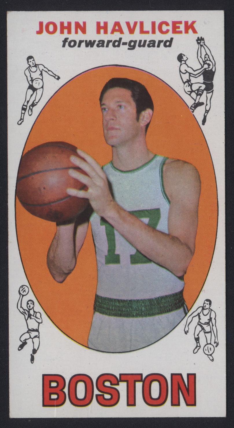 1969 Topps John Havlicek