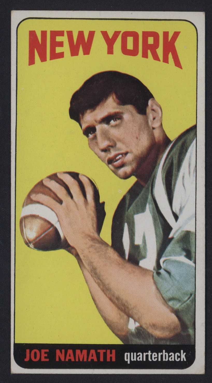Joe Namath Rookie 1965 Topps