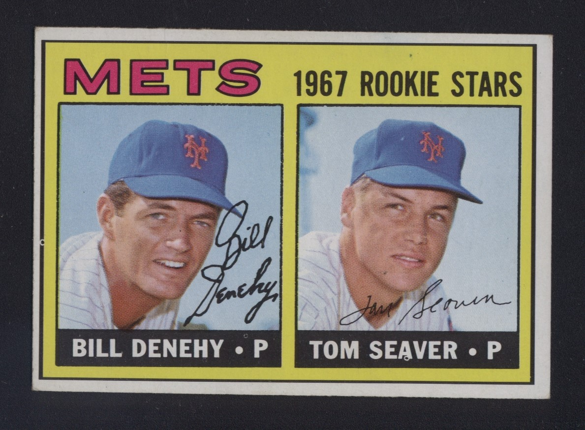 1967 Topps #581 Tom Seaver Rookie