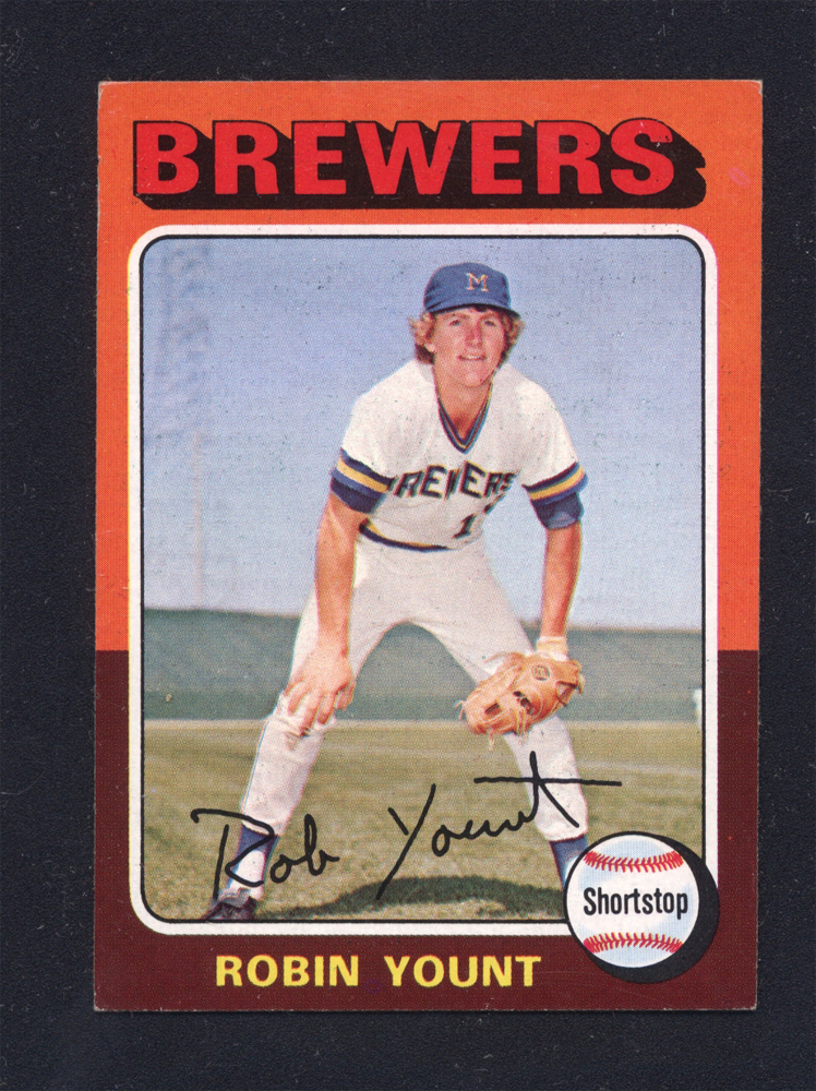 Robin Yount Rookie