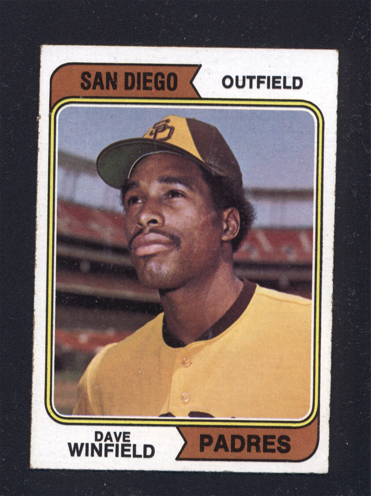 Dave Winfield Rookie