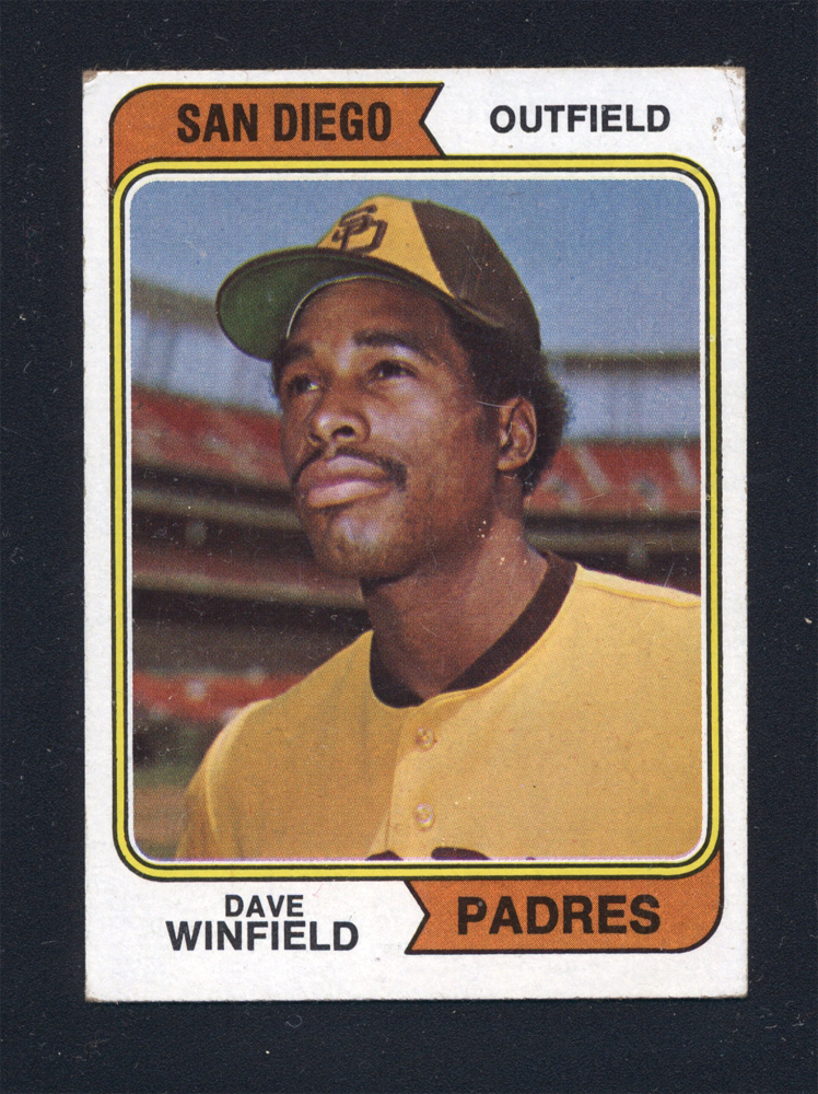 1974 Topps Winfield RC