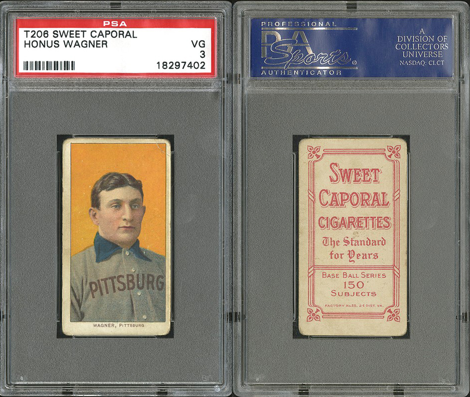 T206 Honus Wagner Already Hits 1 Million Just Collect Blog