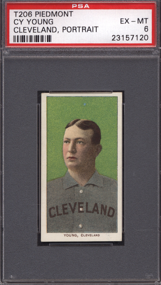 T206 Cy Young Portrait Variation