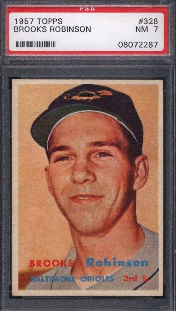 1957 Topps Brooks Robinson Rookie