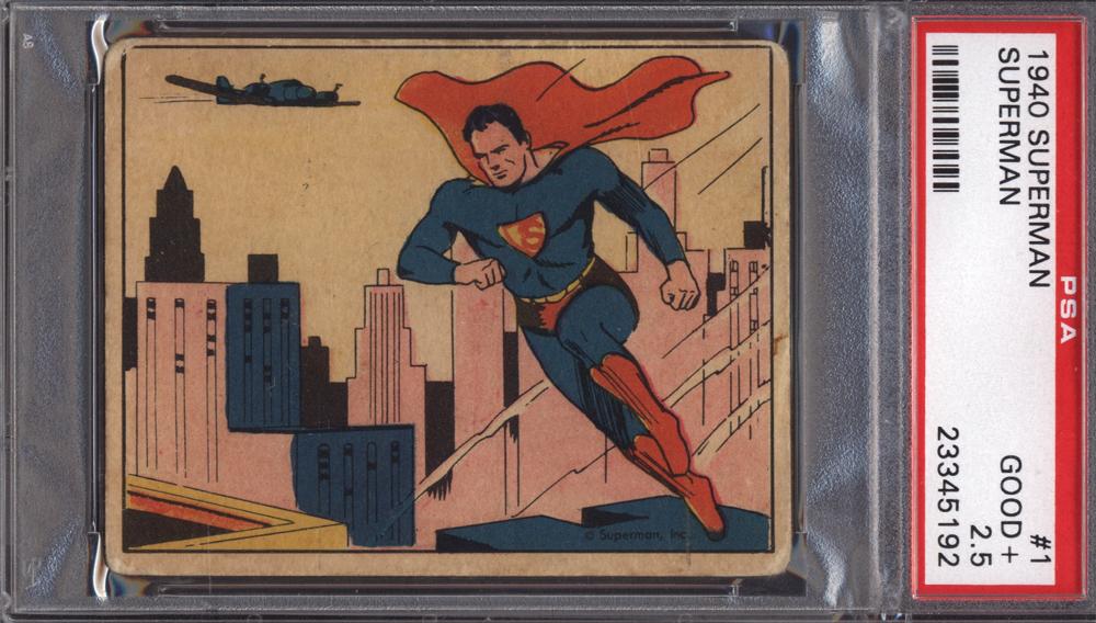 1940 R145 Superman Card #1