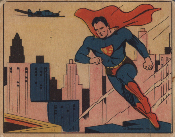 Superman Card #1