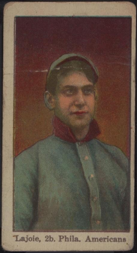 1915 E106 American Caramel Nap Lajoie