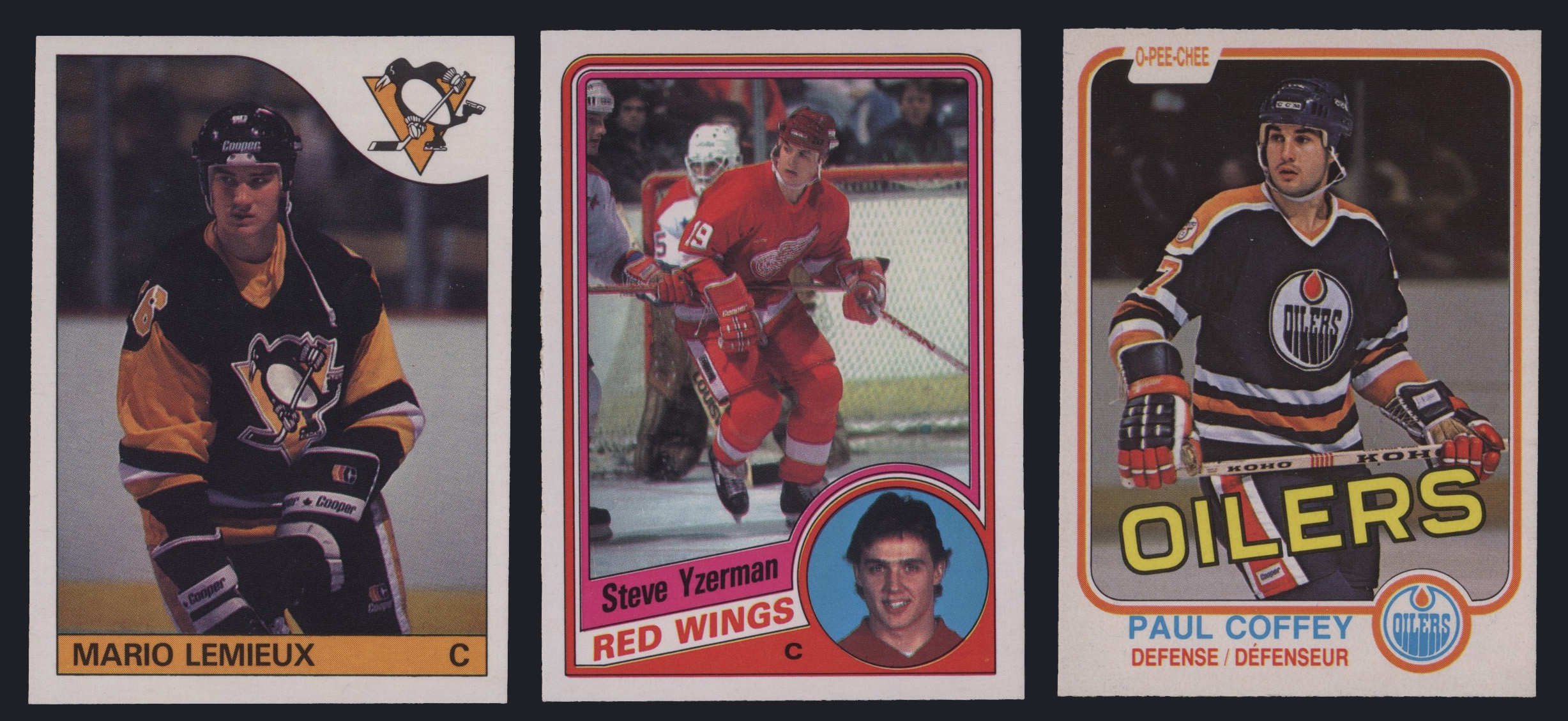 Hall of Fame Rookie Hockey Cards