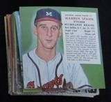Warren Spahn Red Man Card